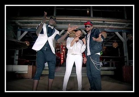 Dibi Dobo, Lynnsha et JJK extrait du clip vidéo love me, paroles