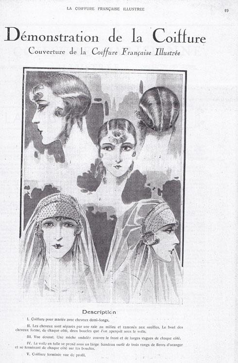 La Coiffure française illustrée - avril 1928