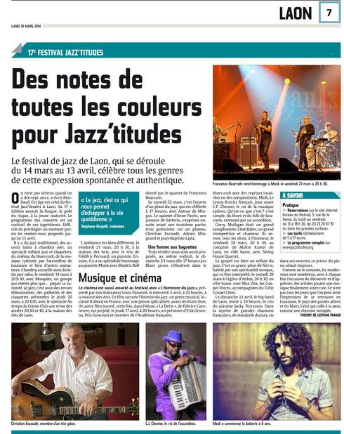 L'Union 10 mars 2014