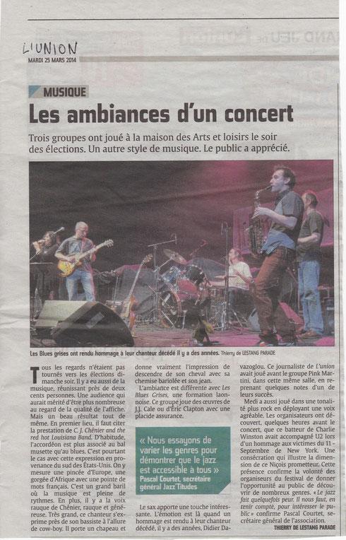 L'Union 25 mars 2014
