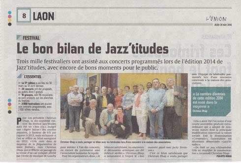 L'Union 29 mai 2014