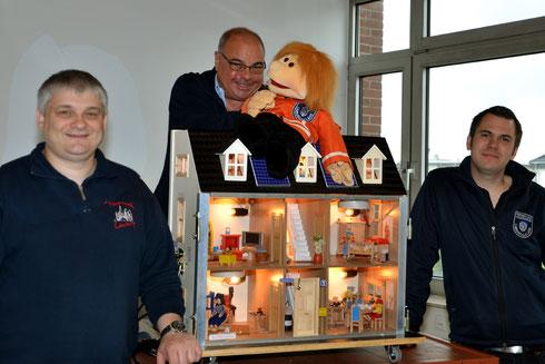 Von Links: Marc Hess, Peter Göbbels, Kevin Hennemann