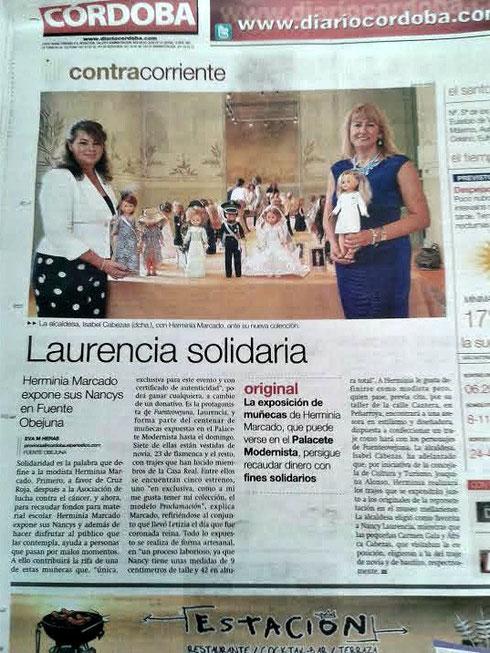 Contraportada Diario Córdoba