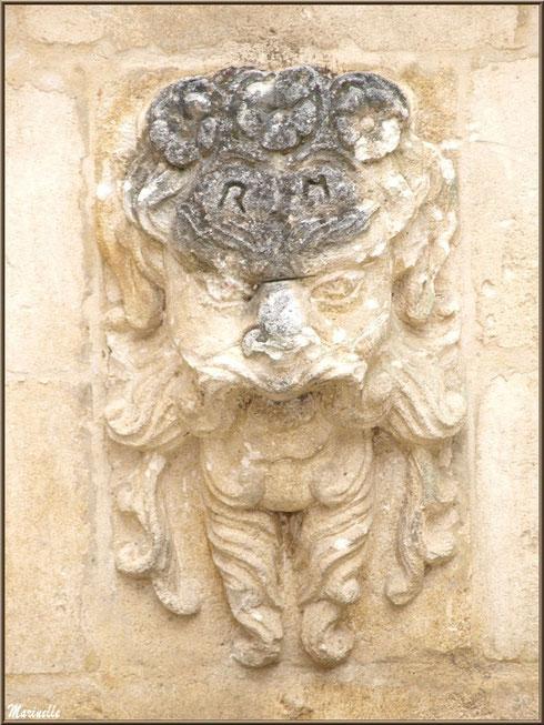 Détail fontaine au coeur du centre ville à Saint Rémy de Provence, Alpilles (13)