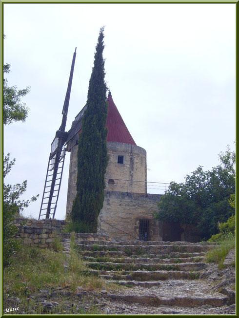 Le Moulin de Daudet à Fontvielle dans les Alpilles, Bouches du Rhône