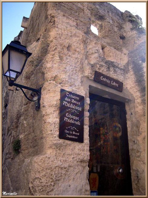 Echoppe médiévale, Baux-de-Provence, Alpilles (13)