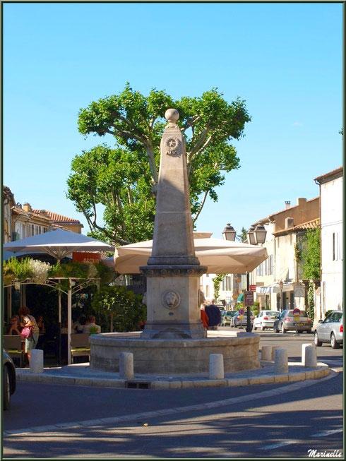 Fontaine de la Trinité à Saint Rémy de Provence, Alpilles (13)