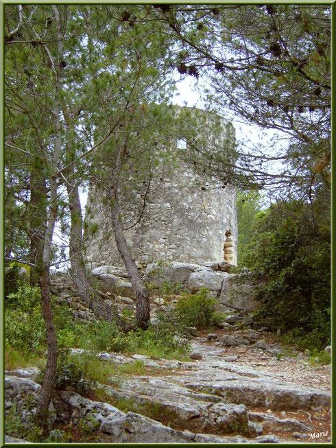 Le moulin Ramet à Fontvielle dans les Alpilles, Bouches du Rhône