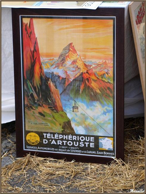 Etal affiches anciennes, Fête au Fromage, Hera deu Hromatge, à Laruns en Vallée d'Ossau (64)