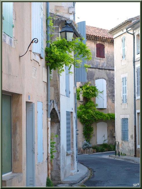 Une ruelle en centre ville à Saint Rémy de Provence, Alpilles (13)