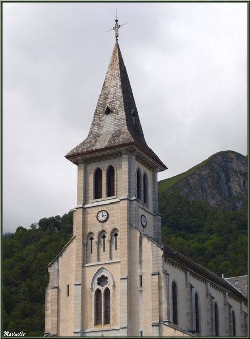 L'église Saint Pierre de Laruns, Vallée d'Ossau (64)