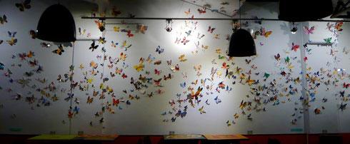 installation 800 papillons 2014