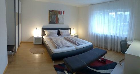 Schlafzimmer - EG Ferienwohnung Ettenheim