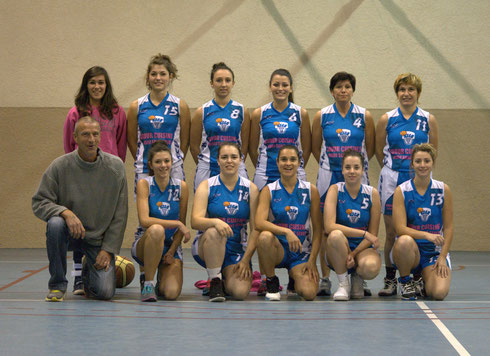 séniors F 2013-14