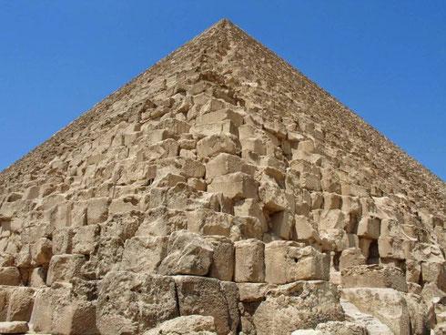 La pyramide de Khéops. Crédit: Mgiganteus1/WikiCommons
