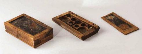 Tablette en bois de Yenikapi