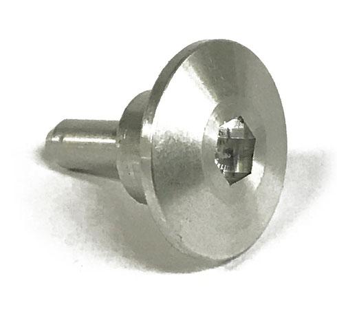 6平六角穴付き特殊ボルト素材