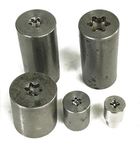 トルクス穴、十字穴用トルク測定テストピース
