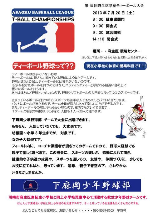 T-BALL大会 2011/12/10