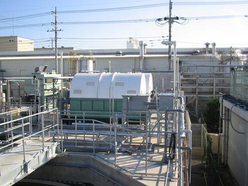 廃水処理場設置写真