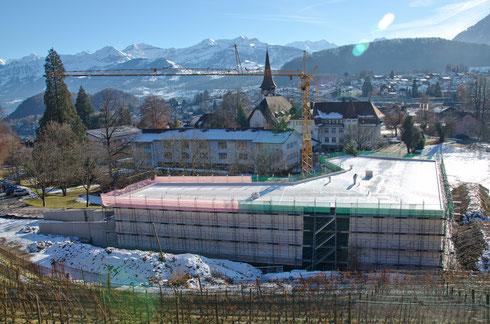 31. Dez. 2013 – Die Bauarbeiten ruhen über die Feiertage.