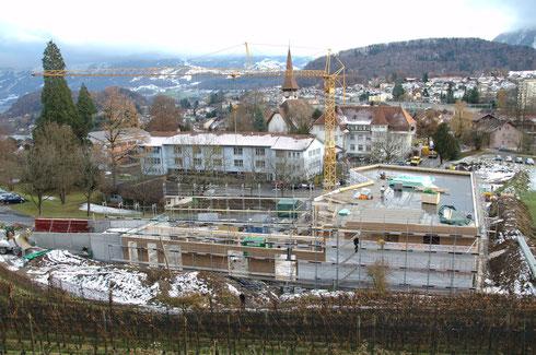 6. Dez. 2013 – Der Neubau wächst in die Breite!