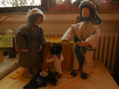 Embryo, Baby, Kind, Mann - alles ist Jesus