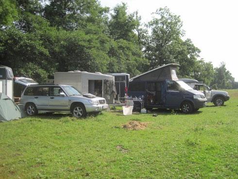 unser Camp...