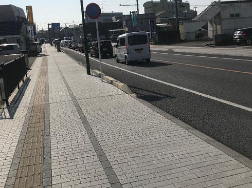 舗装工事 栃木駅東通り
