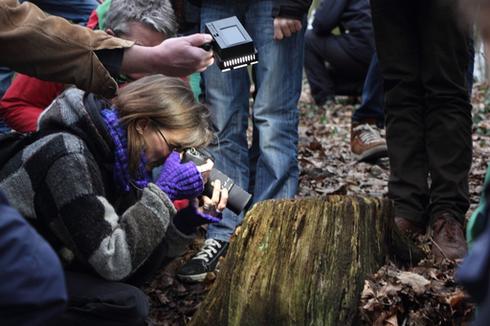 Foto-Shooting mit Moosen (Bild: Joachim Eberhardt)