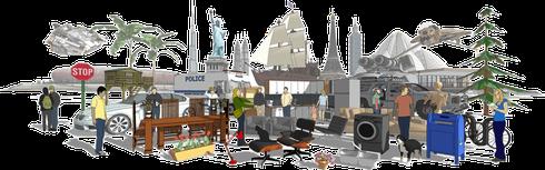 『 SketchUp は、コーヒーポットから高層ビルに至るまで、あらゆる設計者が使用できる最高かつ最も革新的なツールです 』  – McCall & Associates (創業開発者)