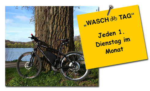 eBike Waschtag
