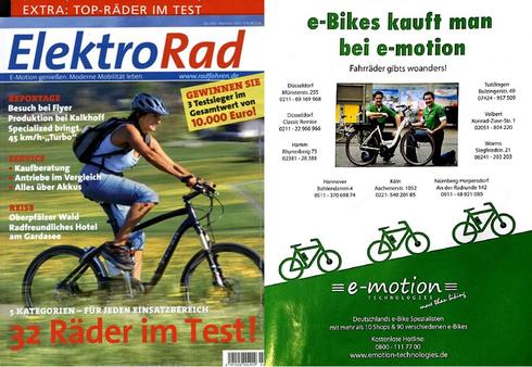 eBike und Pedelec Experte e-motion in der Elektrorad