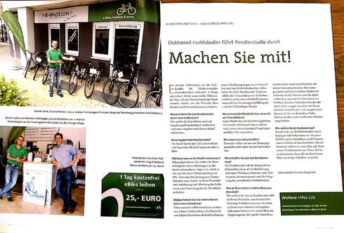 Elektrorad Magazin Artikel