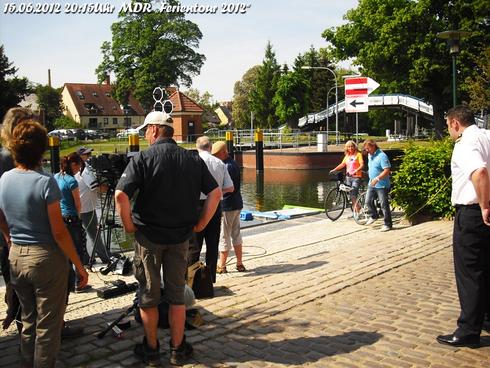 """Dreharbeiten des mdr am 22.05.2012 """"Ferien Tour 2012"""" Ausstrahlung am 15.06.2012 20:15Uhr!"""