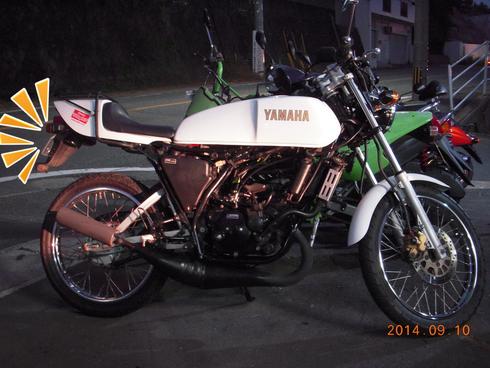 ヤマハ RZ50 白