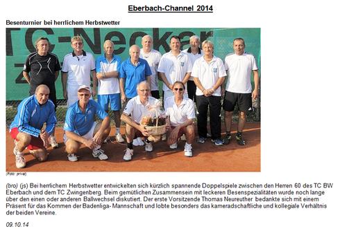 Besenturnier 2014
