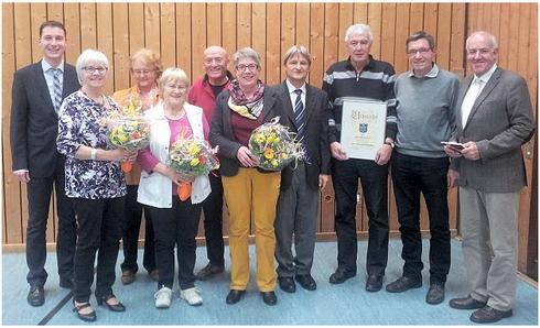Mitgliederversammlung 2014 - Ernennung Knud Sauermann zum Ehrenvorsitzenden