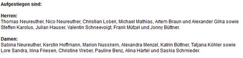 Artikel Eberbach Channel Juli 2014 wegen Aufstieg Damen- und Herrenmannschaft