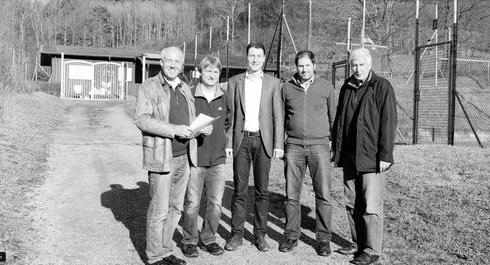 Wegausbau Tennisplätze Artikel Amtsblatt vom 25.04.2013