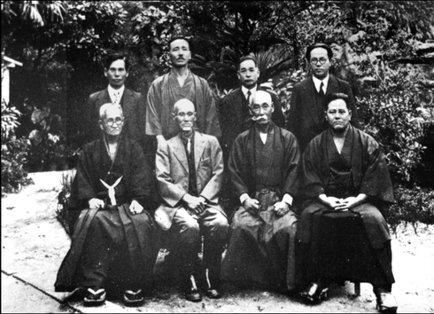 Meeting of the masters 1936