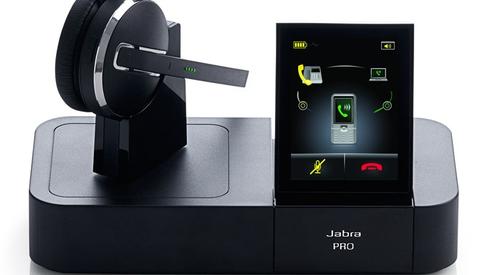 Jabra  PRO 9460 (Mono): Schnurloses DECT-Headset mit Softphone-Unterstützung