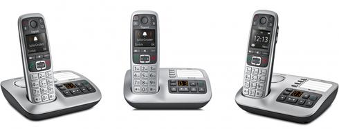 Das Gigaset E550A – Das Premium Großtastentelefon mit Anrufbeantworter