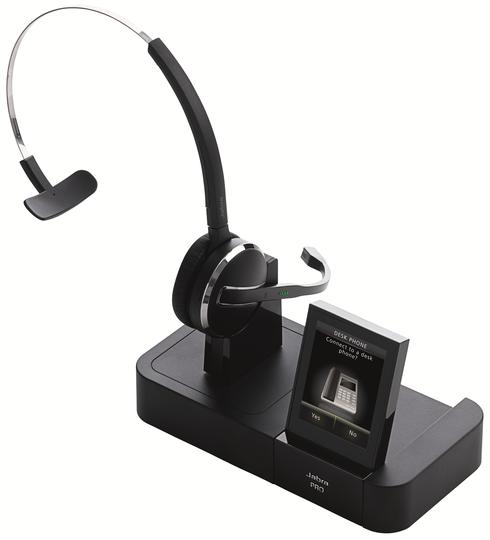 Jabra PRO 9470 (Mono): Schnurloses DECT-Headset mit Softphone-Unterstützung und Bluetooth Schnittstelle