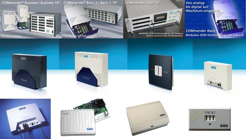 Auerswald - COMpact, COMmander und ETS Telefonanlagen (Archiv)