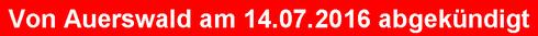Von Auerswald am 14.07.2016 abgekündigt: Auerswald  COMfortel 3200 (IP)