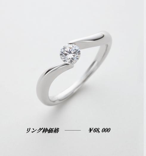 婚約指輪感謝