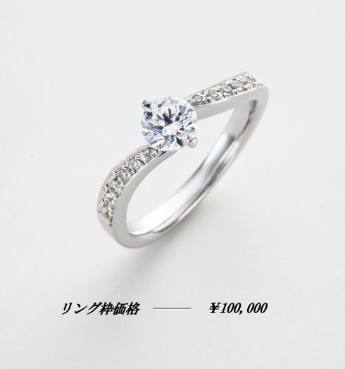 婚約指輪歩み