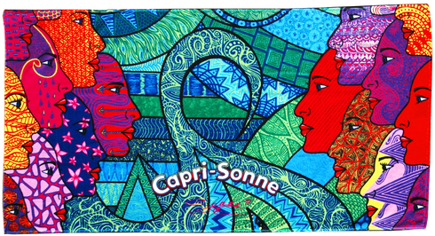 Caprisonne towel designed by Sonni Hönscheid 2014