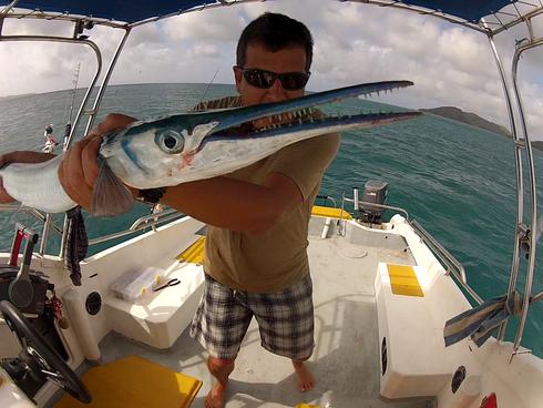 Seychellen angeln selbst